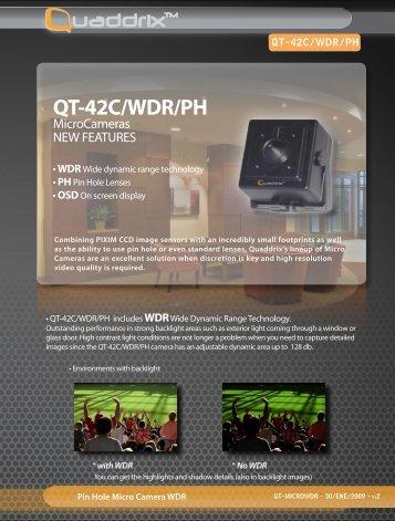 QT-42C/WDR/PH - Quaddrix Technologies
