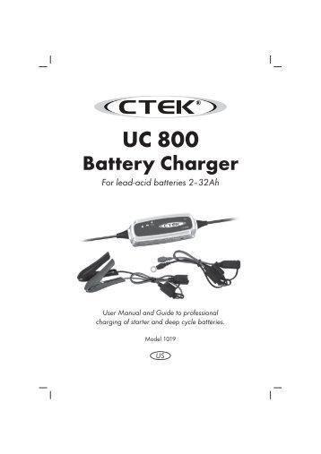 20016019b mxs 15, manual aus, print file 002. Indd ctek battery.