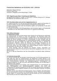 Protokoll des Stadtteilrats vom 02.02.2010, 18.30 – 20.00 ... - Quadriga