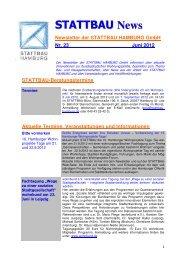 Stattbau-Newsletter Nr. 23 (PDF) - Quadriga