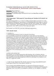 1 Protokoll der Stadtteil-Konferenz vom 26.11.2012, 18 ... - Quadriga