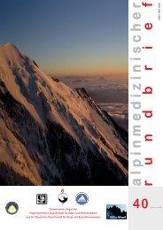 alpinmedizinisc her - Österreichische Gesellschaft für Alpin