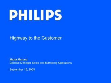 Highway to the Customer