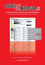 IL PORTALE WEB DI KYOTO CLUB E ... - QualEnergia