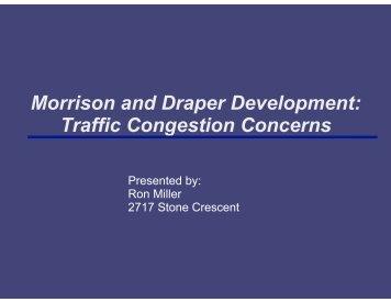 Traffic Congestion Concerns - Qualicum.org