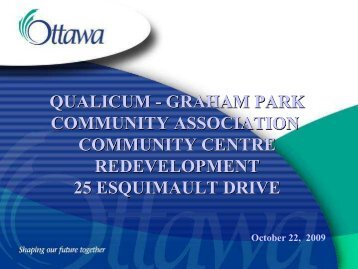 October 2009 - Information from City Staff - Qualicum.org