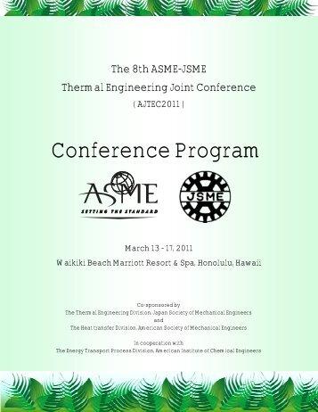 The 8th ASME-JSME