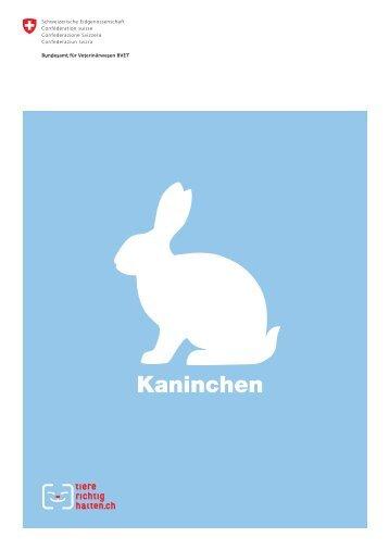 Kaninchen - Qualinova AG