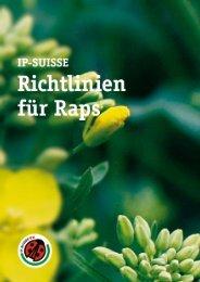 Richtlinien Raps 2009