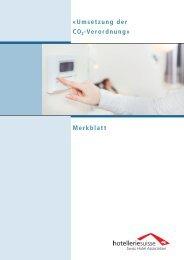 Merkblatt von hotelleriesuisse (PDF, 633.72 KB)