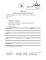 """""""Aktive instrumentelle Workshop """"Aktive instrumentelle ... - Quantec"""