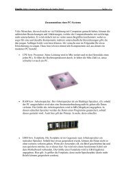 Zusammenbau Eines PC-Systems - Ebelt EDV ...