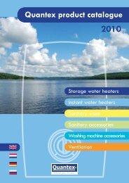 2010 Quantex product catalogue - Quantexgroup.com