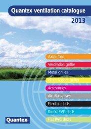 Quantex ventilation catalogue - Quantexgroup.com