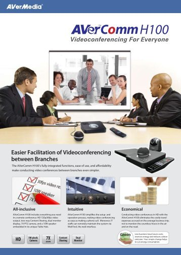 Videoconferencing For Everyone Easier Facilitation ... - Quantum-R Kft