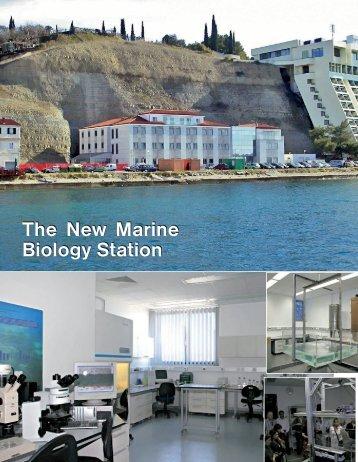 The New Marine Biology Station The New Marine ... - Quark Magazine