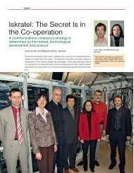 Iskratel: The Secret Is in the Co-operation - Quark Magazine