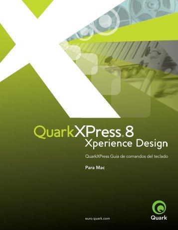 Comandos de menú (Mac OS) - Quark