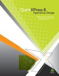 QuarkXPress 8 marketing brochure