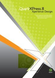 Superior page layout and design software depended on by ... - Quark