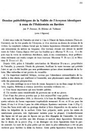 Dessins paleolithiques de Ia Vallee de I' A veyron ... - Quartaer.eu