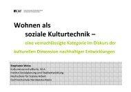 Wohnen als soziale Kulturtechnik […] (Stephanie Weiss)