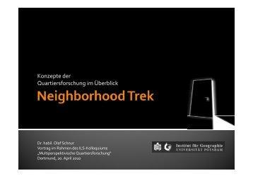 Neighborhood Trek