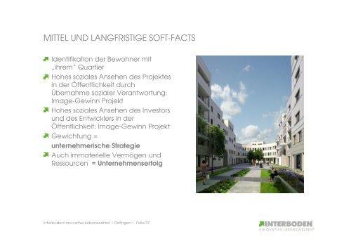 Quartiersentwicklung bei Interboden
