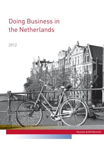 Doing Business in the Netherlands 2012 - American Chamber of ...