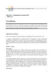 Manuscrit du Migratour à Luxembourg - QuattroPole
