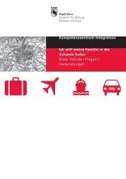 Flyer zur Informationsveranstaltung - Bern