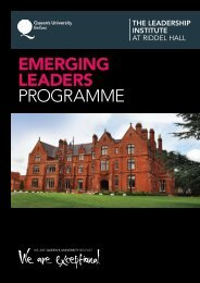 download brochure - Leadership Institute