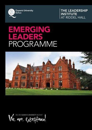 download brochure - Leadership Institute