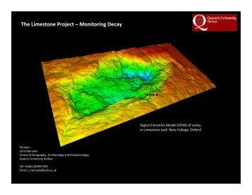 Laser Scanning - Queen's University Belfast