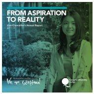 Vice-Chancellor's Annual Report 2011-12 - Perrett Laver