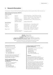 General Information - Queen's University Belfast