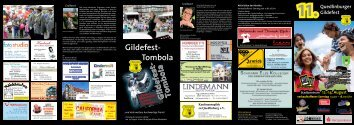 Gildefest- Tombola - Quedlinburg