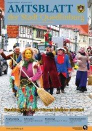 Neujahrsempfang der Stadt Quedlinburg 2013