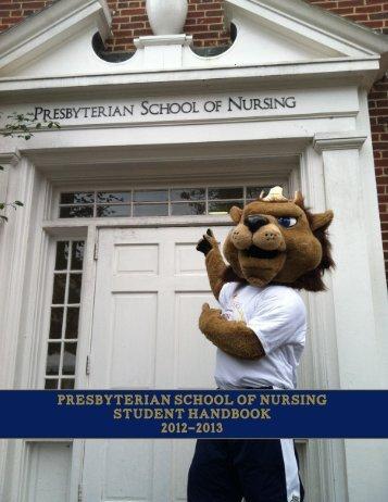 the vail program of nursing - Queens University of Charlotte