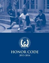 Honor Code Handbook - Queens University of Charlotte