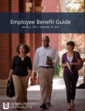 2013 Employee Benefit Guide - Queens University of Charlotte