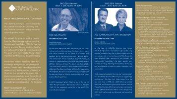 partnership brochure - Queens University of Charlotte