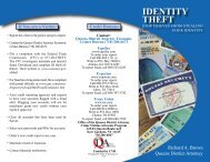 IDENTITY THEFT - Queens County District Attorney