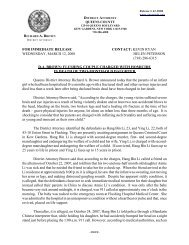 press release from 2008 - Queens County District Attorney