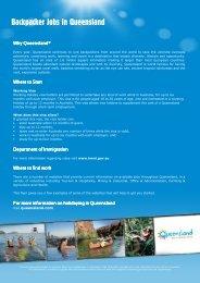 Backpacker Jobs in Queensland - Queensland-australia.eu