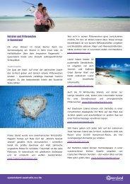 Heiraten und Flitterwochen in Queensland - Queensland-australia.eu