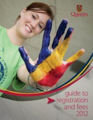 guide to registration and fees - Queen's University