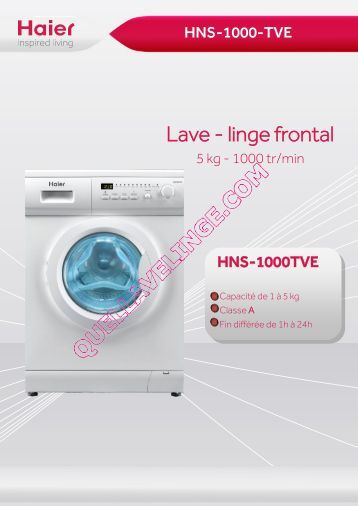 Lave linge quel programme de 28 images meilleur lave for Quel marque de lave linge choisir