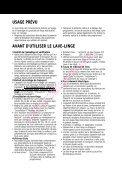 NOTICE D'UTILISATION - Quel lave-linge - Page 2