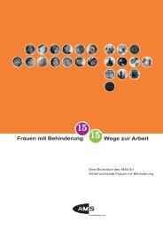 15 Frauen mit Behinderung 15 Wege zur Arbeit - queraum. kultur